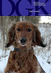 DGK Gravhunden Danish Dachshund Club Magazine - Clay to Collector